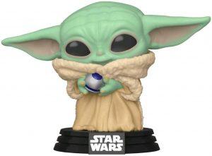 Funko POP de Baby Yoda con control Knob - Los mejores FUNKO POP de Baby Yoda - The Child de The Mandalorian - Los mejores FUNKO POP de personajes de Star Wars