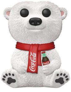Funko POP de Oso de Coca-Cola Flocked - Los mejores FUNKO POP de Coca Cola - Los mejores FUNKO POP de marcas y anuncios