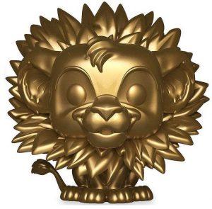 Funko POP de Simba dorado - Los mejores FUNKO POP del Rey León de Disney - Los mejores FUNKO POP de Disney