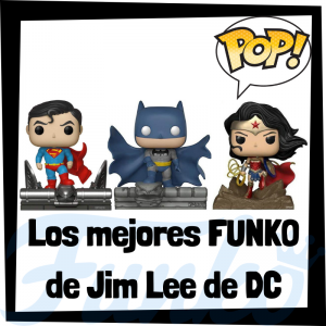 Los mejores FUNKO POP de Jim Lee de DC - Funko POP de la Liga de la Justicia - Funko POP de personajes de DC de Jim Lee