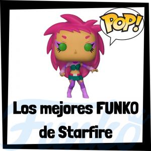 Los mejores FUNKO POP de Starfire - Funko POP de personajes de DC - Funko POP del personajes de Starfire de DC