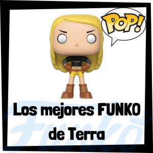 Los mejores FUNKO POP de Terra - Funko POP de personajes de DC - Funko POP del personajes de Terra de DC