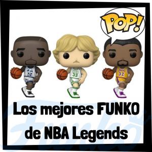 Los mejores FUNKO POP de leyendas de la NBA - Los mejores FUNKO POP de NBA Legends - Los mejores FUNKO POP de deportistas