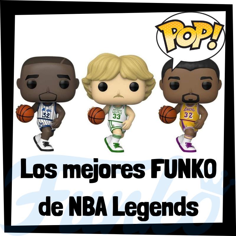 Los mejores FUNKO POP de NBA Legends