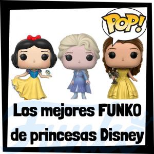 Los mejores FUNKO POP de princesas Disney de Disney - Funko POP de películas de Disney - Funko de películas de animación - Figuras y muñecos FUNKO POP de princesas Disney