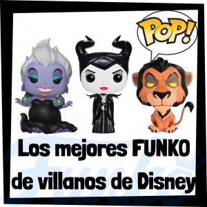 Los mejores FUNKO POP de villanos de Disney - Funko POP de películas de Disney - Funko de películas de animación - Figuras y muñecos FUNKO POP de villanos Disney