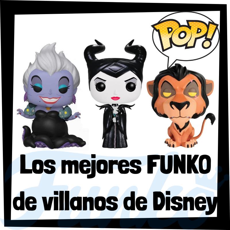 Los mejores FUNKO POP de villanos de Disney