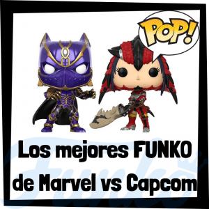 Los mejores FUNKO POP del Marvel vs Capcom Infinite - Los mejores FUNKO POP de Marvel - Funko POP de videojuegos