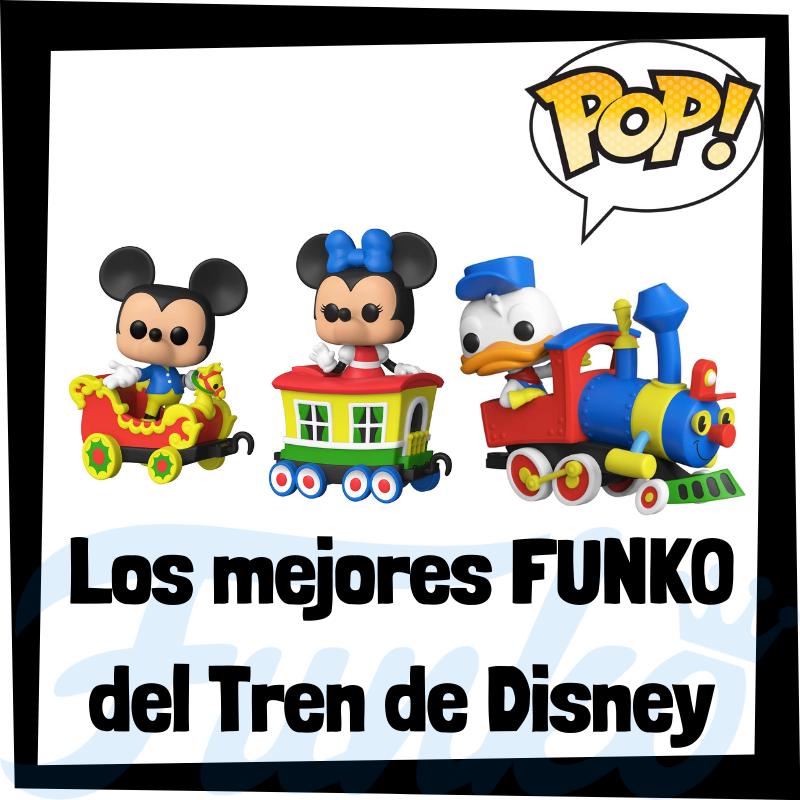 Los mejores FUNKO POP del tren de Disneyland 65 Aniversario