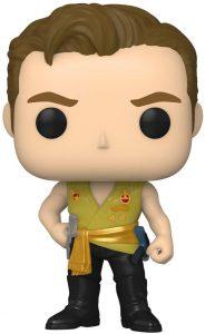 FUNKO POP de Capitán Kirk clásico de Stark Trek - Los mejores FUNKO POP de Star Trek TV Series