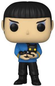 FUNKO POP de Spock con gato de Stark Trek - Los mejores FUNKO POP de Star Trek TV Series