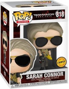 Figura FUNKO POP Chase de Sarah Connor de Terminator 818 - FUNKO POP Chase exclusivos - FUNKO POP únicos difíciles de conseguir