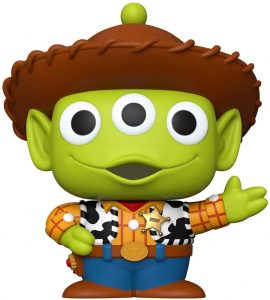 Funko POP de Alien como Woody de Toy Story de 10 pulgadas - 25 centímetros - Los mejores FUNKO POP Super-Sized - Funko POP grandes de Disney