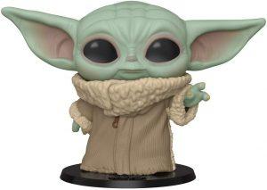 Funko POP de Baby Yoda - Grogu de 10 pulgadas - 25 centímetros - Los mejores FUNKO POP Super-Sized - Funko POP grandes de Star Wars