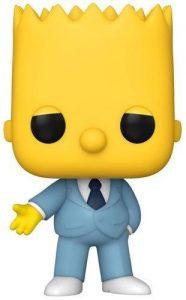 Funko POP de Bart Simpson mafia con traje de los Simpsons - Los mejores FUNKO POP de los Simpsons - Los mejores FUNKO POP de series de animación
