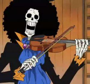 Funko POP de Brook de One Piece - Los mejores FUNKO POP de One Piece de anime - Filtraciones FUNKO POP