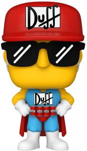 Funko POP de Duffman de los Simpsons - Los mejores FUNKO POP de los Simpsons - Los mejores FUNKO POP de series de animación