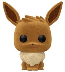 Funko POP de Eevee Flocked de Pokemon - Los mejores FUNKO POP de Eevee y sus evoluciones de Pokemon - Los mejores FUNKO POP de evoluciones de Eevee