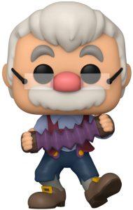 Funko POP de Geppetto con acordeón - Los mejores FUNKO POP de Pinocho - FUNKO POP de Disney