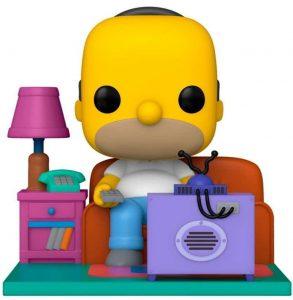 Funko POP de Homer Simpson sofá de los Simpsons - Los mejores FUNKO POP de los Simpsons - Los mejores FUNKO POP de series de animación