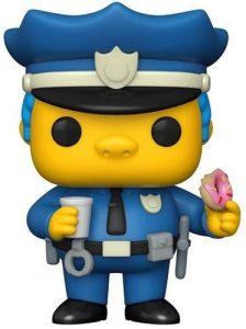 Funko POP de Jefe Wiggum de los Simpsons - Los mejores FUNKO POP de los Simpsons - Los mejores FUNKO POP de series de animación