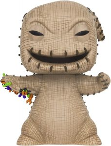Funko POP de Oogie Boogie de Nightmare Before Christmas de 10 pulgadas - 25 centímetros - Los mejores FUNKO POP Super-Sized - Funko POP grandes de Disney