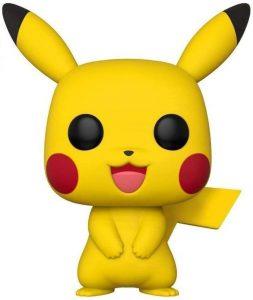 Funko POP de Pikachu de 10 pulgadas - 25 centímetros - Los mejores FUNKO POP Super-Sized - Funko POP grandes de videojuegos