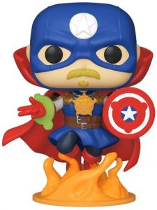 Funko POP de Soldier Supreme de Marvel Infinity Warps - Los mejores FUNKO POP de Marvel Collection