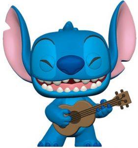 Funko POP de Stitch Ukelele - Los mejores FUNKO POP de Lilo y Stitch - FUNKO POP de Disney