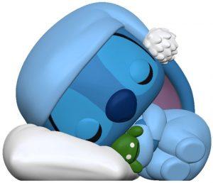 Funko POP de Stitch durmiendo - Los mejores FUNKO POP de Lilo y Stitch - FUNKO POP de Disney