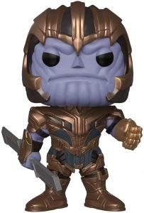 Funko POP de Thanos de End Game de 10 pulgadas - 25 centímetros - Los mejores FUNKO POP Super-Sized - Funko POP grandes de Marvel
