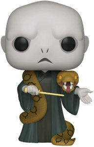 Funko POP de Voldemort con Nagini de 10 pulgadas - 25 centímetros - Los mejores FUNKO POP Super-Sized - Funko POP grandes de Harry Potter