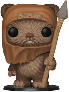 Funko POP de Wicket W. Warrick de Ewok de 10 pulgadas - 25 centímetros - Los mejores FUNKO POP Super-Sized - Funko POP grandes de Star Wars