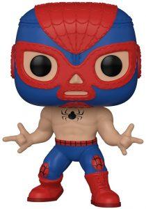 Funko POP de el Aracno de Spiderman de Marvel Lucha Libre - Luchadores - Los mejores FUNKO POP de Marvel Collection