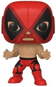 Funko POP de el Chimichanga de la muerte de Deadpool de Marvel Lucha Libre - Luchadores - Los mejores FUNKO POP de Marvel Collection