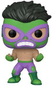 Funko POP de el Furioso de Hulk de Marvel Lucha Libre - Luchadores - Los mejores FUNKO POP de Marvel Collection
