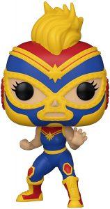 Funko POP de la Estrella Cósmica de Capitana Marvel de Marvel Lucha Libre - Luchadores - Los mejores FUNKO POP de Marvel Collection