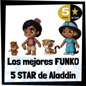 Los mejores FUNKO 5 Star de Aladdin de Disney - Figuras Funko Five Star de Aladdin - Figuras 5 Star de personajes de Disney de Aladdin de FUNKO