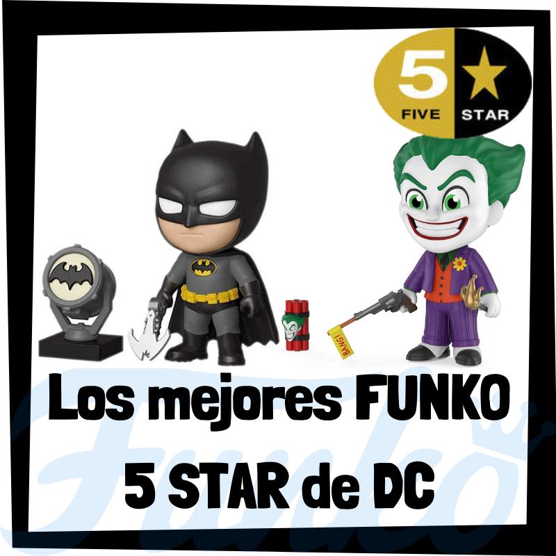 Los mejores FUNKO 5 Star de DC de Batman