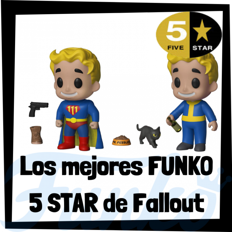 Los mejores FUNKO 5 Star de Fallout