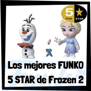 Los mejores FUNKO 5 Star de Frozen 2 de Disney - Figuras Funko Five Star de Frozen 2 - Figuras 5 Star de personajes de Disney de Frozen 2 de FUNKO