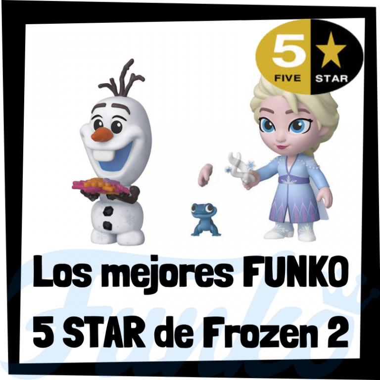 Lee más sobre el artículo Los mejores FUNKO 5 Star de Frozen