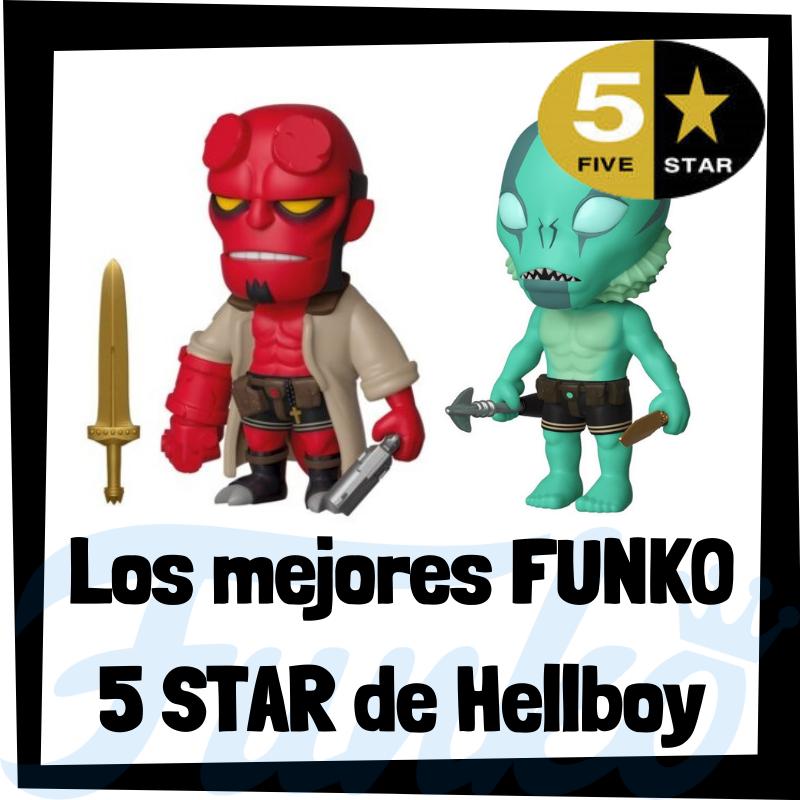Los mejores FUNKO 5 Star de Hellboy
