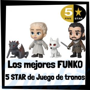 Los mejores FUNKO 5 Star de Juego de Tronos - Figuras Funko Five Star de Game of Thrones - Figuras 5 Star de personajes de Juego de Tronos de FUNKO
