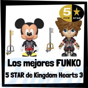 Los mejores FUNKO 5 Star de Kingdom Hearts - Figuras Funko Five Star de Kingdom Hearts - Figuras 5 Star de personajes de Kingdom Hearts de FUNKO
