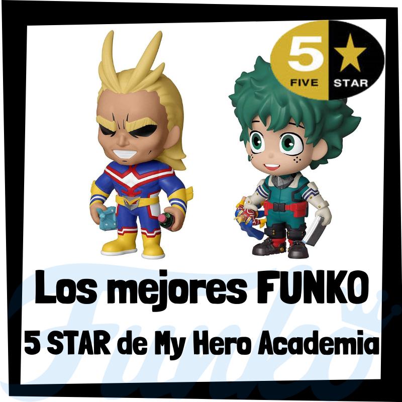 Los mejores FUNKO 5 Star de My Hero Academia