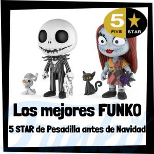 Los mejores FUNKO 5 Star de Pesadilla antes de Navidad de Disney - Figuras Funko Five Star de Nightmare Before Christmas - Figuras 5 Star de personajes de Disney