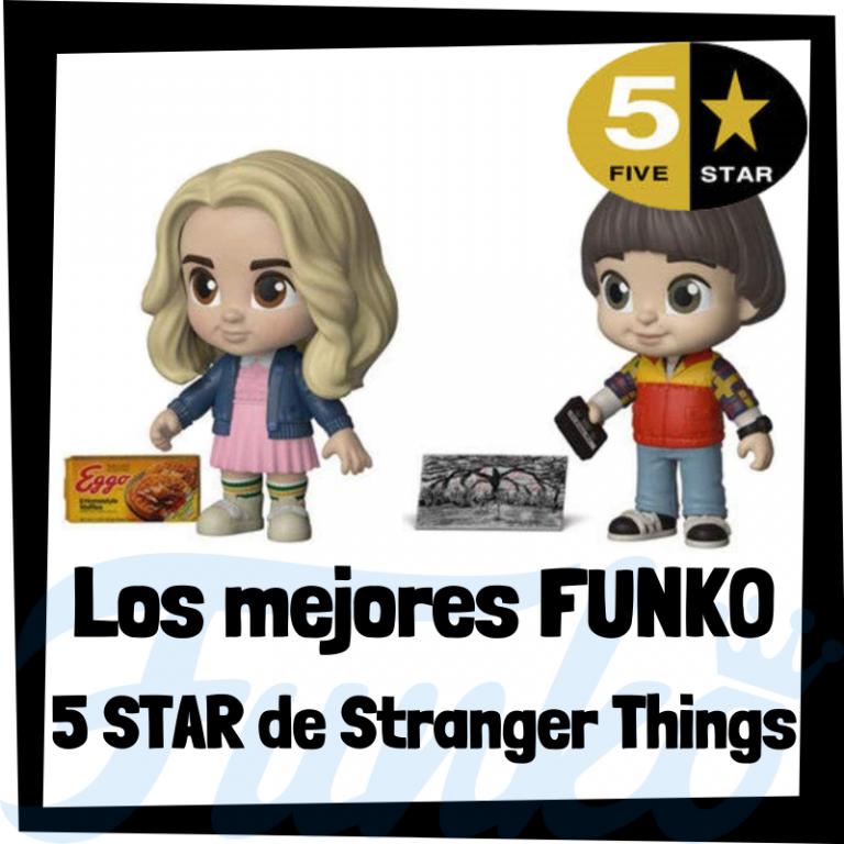 Los mejores FUNKO 5 Star de Stranger Things