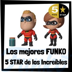 Los mejores FUNKO 5 Star de los increíbles de Disney Pixar - Figuras Funko Five Star de los Increibles - Figuras 5 Star de personajes de Disney de los Increibles de FUNKO