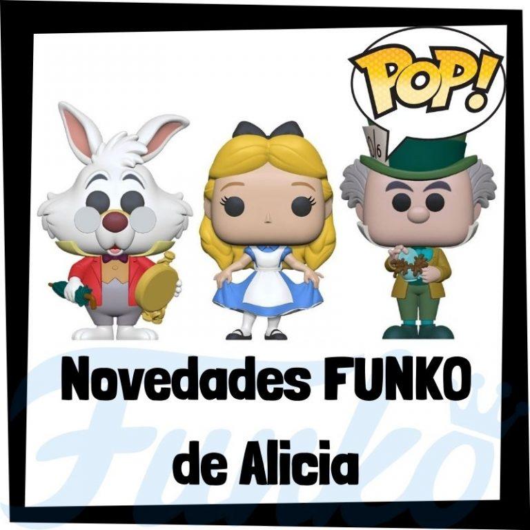 Lee más sobre el artículo Nuevos FUNKO POP de Alicia en el País de las Maravillas